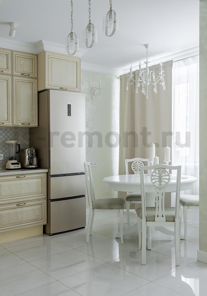 Дизайн ремонт жилой квартиры ЖК Москвичка