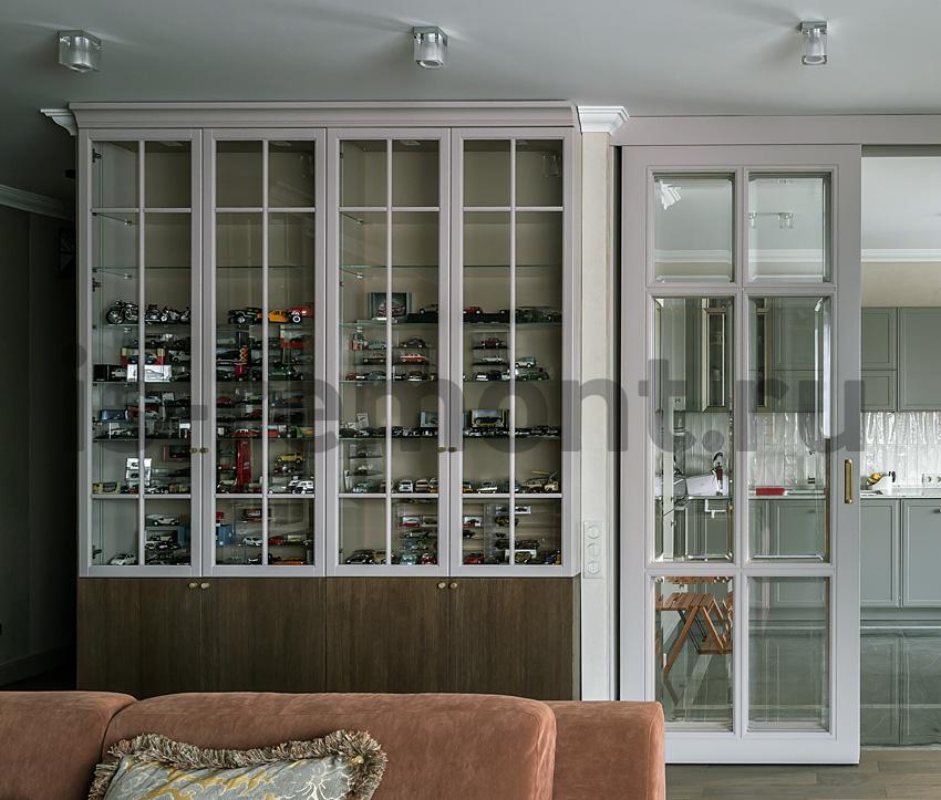 Дизайн проект и ремоент квартиры на улице Удальцова, кухня.