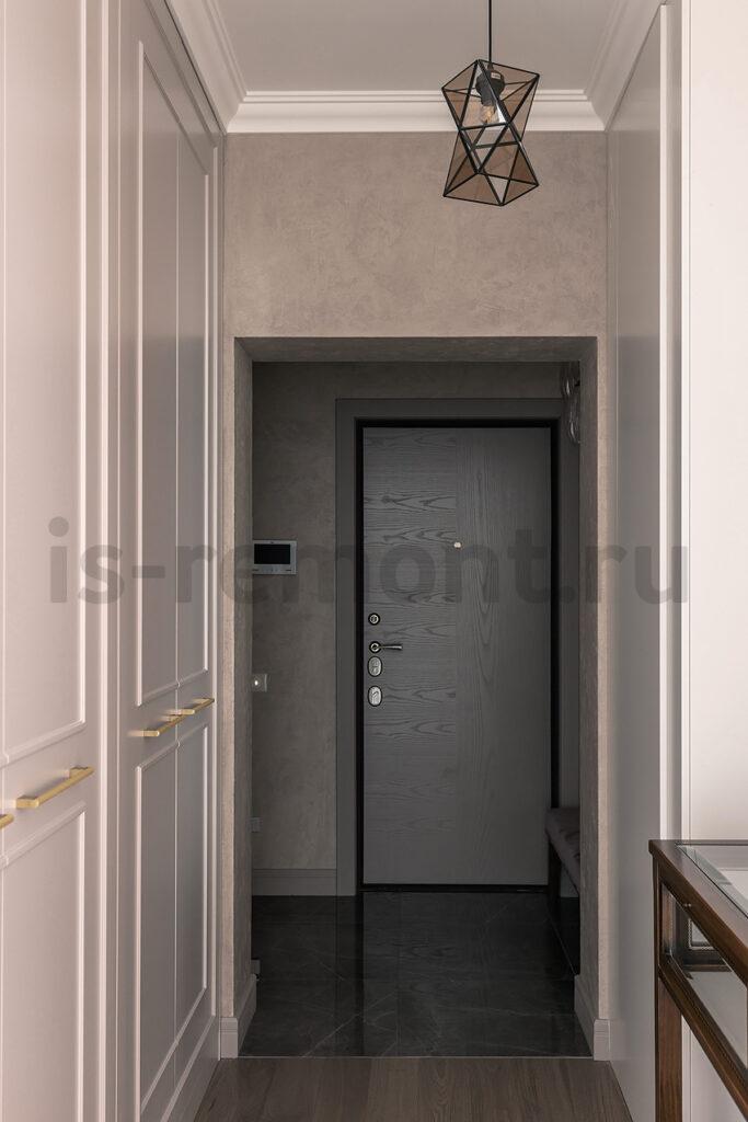 Дизайн проект и ремонт жилой квартиры. Прихожая.